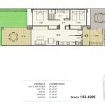 2 dormitorios Jardin -La Perla
