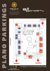 Plano Parkings CERRO DEL SOL